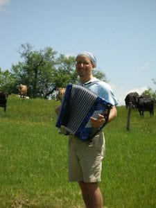 Cows like accordion music. Who knew?