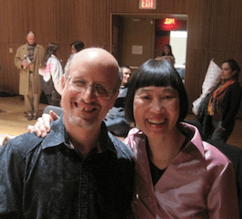 Me with Margaret Leng Tan at the 2011 UnCaged Toy Piano Festival.